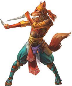 kitsune  fox